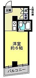リーヴェルステージ横浜南[304号室]の間取り