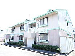 清風荘A・B[2階]の外観