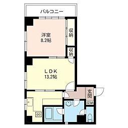 田那村ビル[3階]の間取り