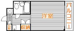 セントヒルズ武蔵浦和[308号室]の間取り