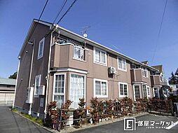 愛知県豊田市寺部町3丁目の賃貸アパートの外観