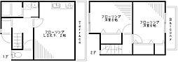[テラスハウス] 東京都杉並区善福寺1丁目 の賃貸【/】の間取り