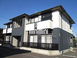 愛知県西尾市桜町溜池の賃貸アパートの外観