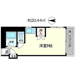 北沢江の木ビル[3階]の間取り