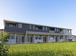 徳島県板野郡藍住町富吉字岸ノ下の賃貸アパートの外観
