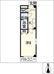 ソフィア24 D棟[2階]の間取り