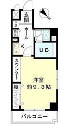 東建シティハイツ鶴見中央[4階]の間取り