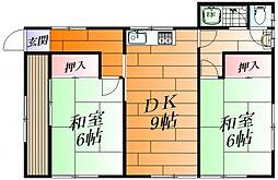 [一戸建] 大阪府茨木市蔵垣内3 の賃貸【/】の間取り