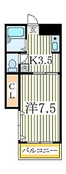 ハイムまことA棟[2階]の間取り