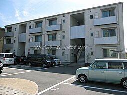 岡山県岡山市北区今2丁目の賃貸アパートの外観