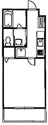 コンフォート植村[2階]の間取り
