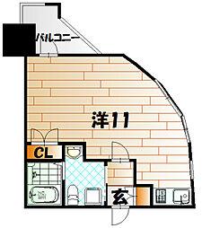 No.63 オリエントキャピタルタワー[12階]の間取り