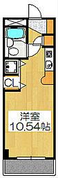 京都府京都市下京区柳馬場通松原下る忠庵町の賃貸マンションの間取り