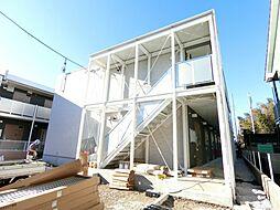 千葉県柏市豊住2丁目の賃貸アパートの外観