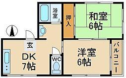 IMハウス[2階]の間取り
