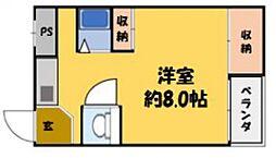 エクセル大和田[4階]の間取り