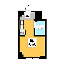 加島ハイツ[2階]の間取り