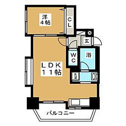 ノヴァ裏参道[7階]の間取り