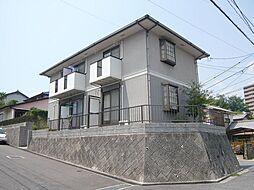 広島県広島市佐伯区五日市2丁目の賃貸アパートの外観