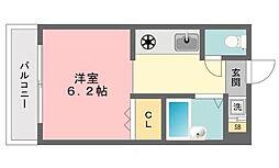 SEIBUマンションII[4階]の間取り