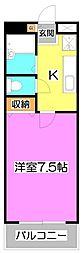 JC STATION 〜ジェーシー ステーション〜[9階]の間取り