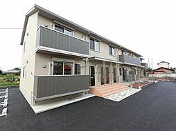 栃木県小山市大字立木の賃貸アパートの外観