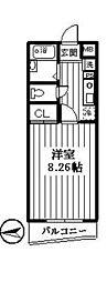 ロイヤルコート氷川台[2階]の間取り