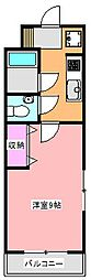 メゾンポプリ[3階]の間取り