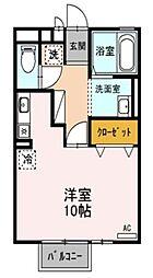 カーサユーカリ A[103号室]の間取り