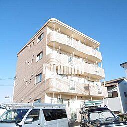 静岡県浜松市浜北区尾野の賃貸マンションの外観
