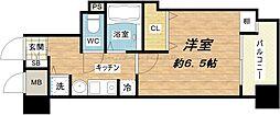 ランドマークシティ大阪城南第2[8階]の間取り