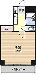 第7パールハイツ安井[306号室号室]の間取り