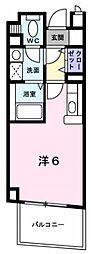 プリムローズHY2[4階]の間取り