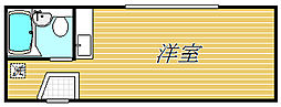 アーバンプレイス渋谷本町[2階]の間取り