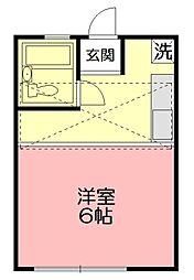 ビューパレス湘南小和田[2階]の間取り