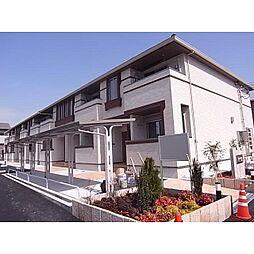 奈良県桜井市安倍木材団地2丁目の賃貸アパートの外観