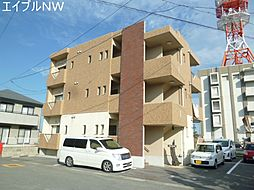 三重県松阪市大口町の賃貸マンションの外観