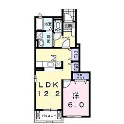 カンパーニュ A[1階]の間取り