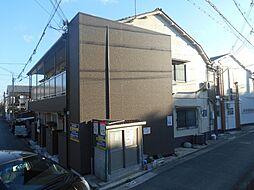 大阪府堺市西区浜寺諏訪森町西4丁の賃貸アパートの外観