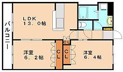 シルフィールド[2階]の間取り