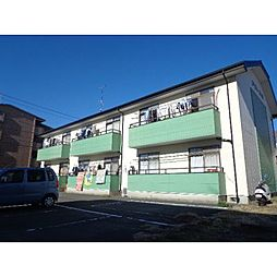 静岡県浜松市中区中島3丁目の賃貸アパートの外観