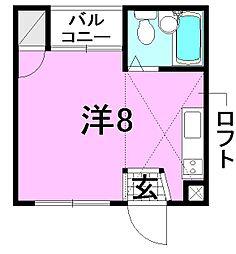 清水マンション[302 号室号室]の間取り