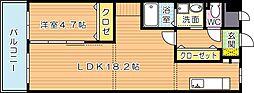 スマートII[2階]の間取り