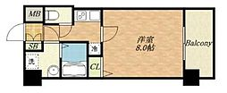 S-RESIDENCE緑橋駅前[10階]の間取り