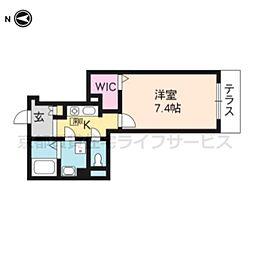 MountSide秀泉(?3143)[102号室]の間取り