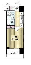 グランカーサ梅田北[12階]の間取り