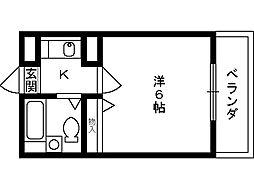 パステル2[1階]の間取り