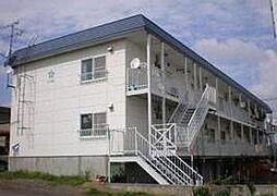 北海道札幌市清田区平岡九条1丁目の賃貸アパートの外観