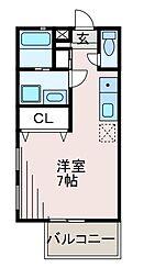 ぺリセ[2階]の間取り