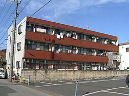 埼玉県川口市弥平2丁目の賃貸マンションの外観